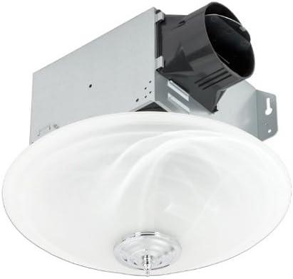 Delta Electronics Ltd. GBR100LED-DÉCOR Bathroom Exhaust Fan With Light