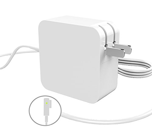 Replacement 45W Power Adapter Magsafe 1 For Macbook Air 11 inch and 13 inch A1374 A1369 A1470 (MB003LL/A,MB543LL/A,MB940LL/AMC233LL/A) 14.5v 3.15A Magnetic L-Shape Connector for models Before Mid 2012