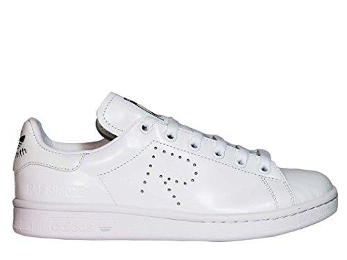 Adidas Di Raf Simons Donna S81167 Sneakers In Pelle Bianca
