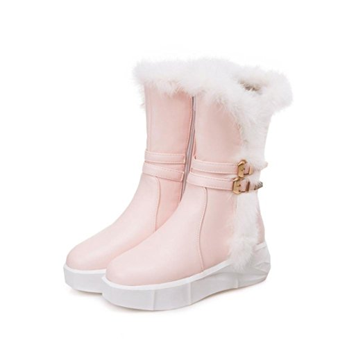 Piel Boots Tacones Premium 38 Suela Goma 5cm 5 Plataforma Mujer Pu Nvxuezix Zapatos Martin Altos Sintética De Meatal Hebilla 06wqWCg