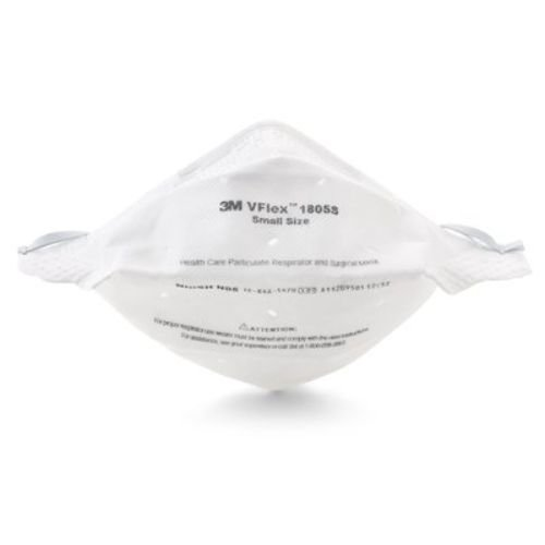 3M Health Care 1805S Vflex Particulate Respirator Mask, Small (Pack of 400)