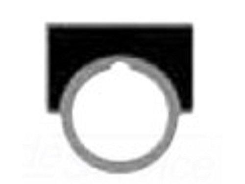 SIEM4 52NL02E LRG BR-ALUMINUM LEGEND PLATE