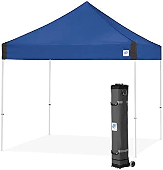 E-Z UP Vantage 10x10' Instant Shelter Canopy (Royal Blue)