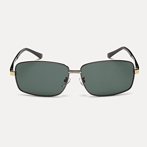 Lunettes de Gifts soleil New Lunettes Hiker Sun UV Personn Sports plein A Black hommes soleil Polarized Visor de Lunettes Sunglasses pour Protective UV400 de Retro Dark Green de Protective soleil Frame; Color Conduite Star air Gun TnnOq6BH