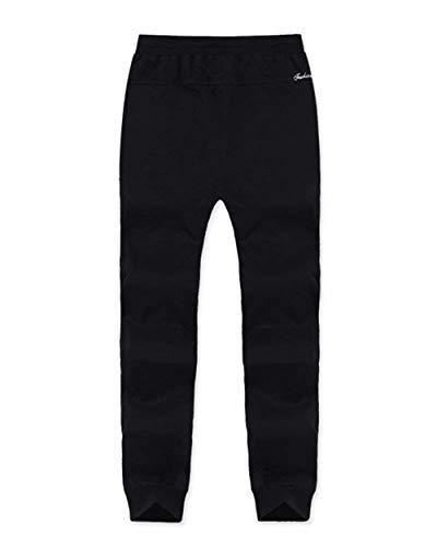 Color Otoño Black Battercake Para Hombres Chándal Primavera 88 Harén Y Pantalones Casual De Sólido Cómodo Yqn6rY70