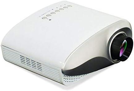 tib Proyector LEDMobile DLP Multimedia Video TV Interfaz Home Office Juego Proyección con HDMI con Control Remoto 170 * 115mm,White: Amazon.es: Electrónica