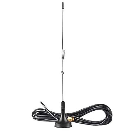Mobile Antenna Dual Band VHF UHF EasyTalk UT-106UV SMA-F Mini High Gain Long Range Antennas for Walkie Talkie Radio Transceiver