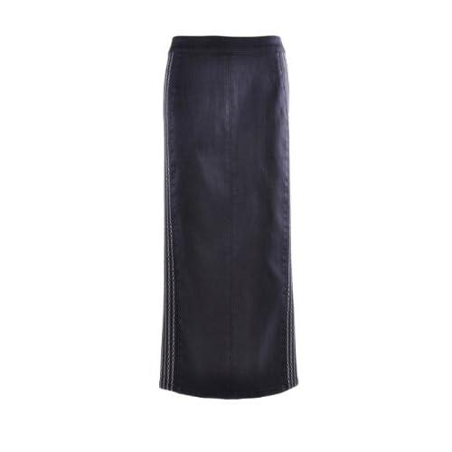 aec5ea3b01 well-wreapped Style J Office Chic Denim Skirt - nobleplanet.com