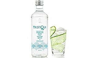MastiQua Greek Mastiha Flavored Sparkling Water - 3 Bottles - 11 oz. each