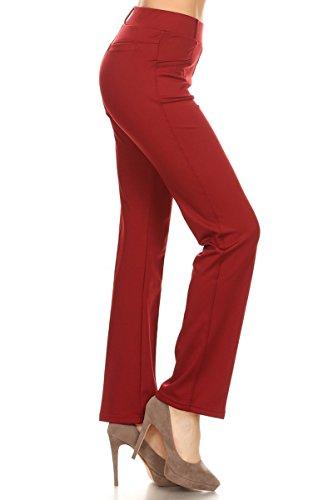 Leggings-Depot-Womens-All-Around-Comfort-Office-Slimming-Pants