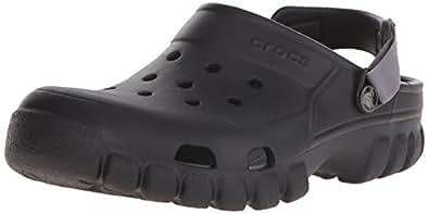 Crocs Unisex Offroad Sport Clog, Black/Graphite, 7 M (D) US Men / 9 M (B) US Women M US