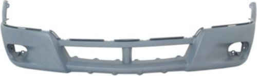 Crash Parts Plus Primed Front Bumper Cover Replacement for 2003-2004 Pontiac (Pontiac Vibe Bumper Cover)