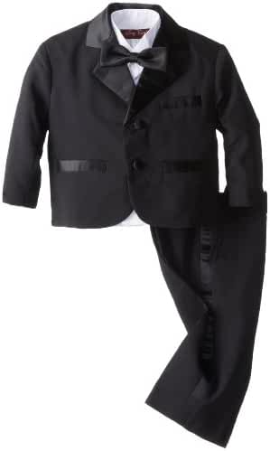 Joey Couture Baby Boys' Tuxedo Suit No Tail