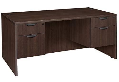 (Regency LDP7135JV Desk Legacy Double Pedestal 71