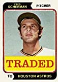 1974 Topps Topps Traded (Baseball) Card# 15 186T Fred Scherman of the Houston Astros ExMt Condition