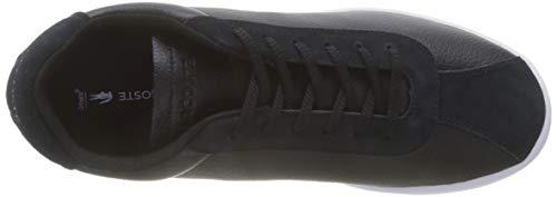 119 Lacoste 2 Negro wht black Masters Hombre Para Sma 312 Zapatillas Fq5arqw