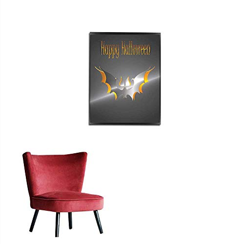 longbuyer Photographic Wallpaper Halloween Bats Greetings Card Mural 16