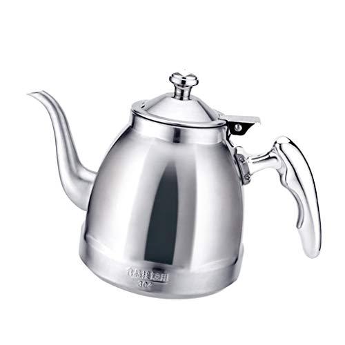 Baoblaze Portable Stainless Steel Kettle Water Teapot Kitchen Restaurant Supply 1.5L - B