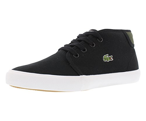 Lacoste Ampthill WD Casual Chukka Boot , Black/Green, 11 M U