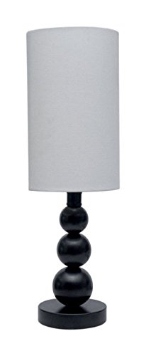 - Ball Accent Lamp Blk