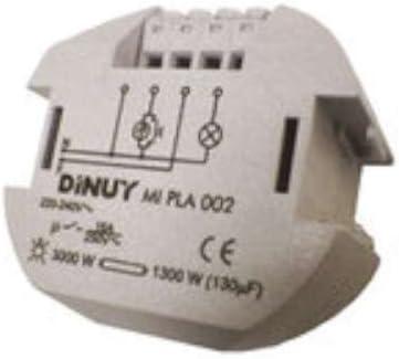 Dinuy electronico - Minutero electronico 3000w incandescente 230v: Amazon.es: Bricolaje y herramientas