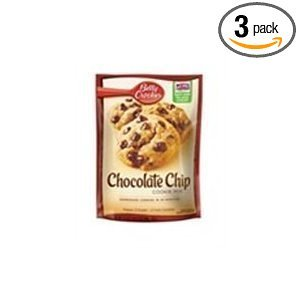 Betty Crocker Chocolate Chip Cookie Mix 17.5 oz (Pack of 3) - Betty Crocker Chips