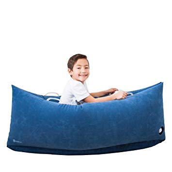 Harkla Hug (48 inches) - Inflatable Peapod for Children with Sensory Needs - Great Sensory Product for Ages 2 to 6 - Occupational Therapy Tools, Autism Toys