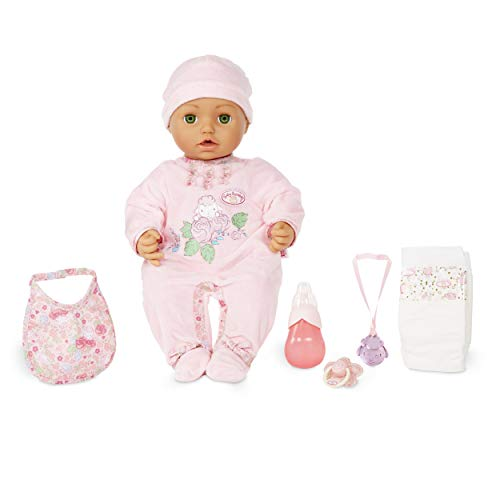 Baby Annabell with Green Eyes Soft-Bodied Baby Doll for sale  Delivered anywhere in USA