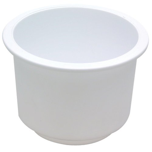 11789WD1 White Attwood Large Recessed Drink Holder Inc