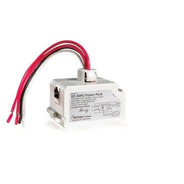WattStopper BZ-50RC Power Pack, Universal w/RJ45 Connection for Occupancy Sensors, 120V to 24V - White