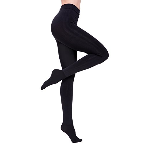 Artiff Compression Opaque Footed Black tights and Leggings for (Opaque Leggings)
