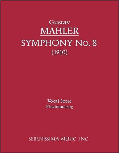 Symphony No. 8 - Vocal score (Latin Edition)