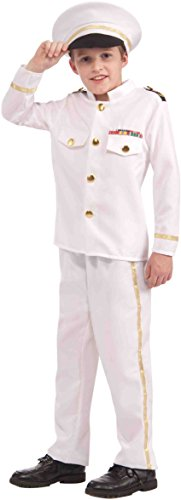 Forum Novelties Navy Admiral Child Costume, Medium -