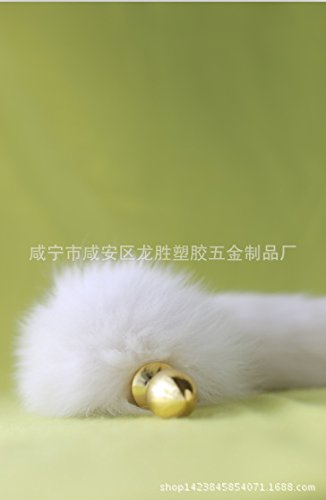 1pcs Sex toys wholesale manufacturers of White Fox Tail Golden anal plug backyard toy a medium on behalf of offbeat support