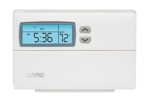 2 Day Programmable Thermostat - LuxPRO PSP511LC 5-2 Day Deluxe Programmable Thermostat