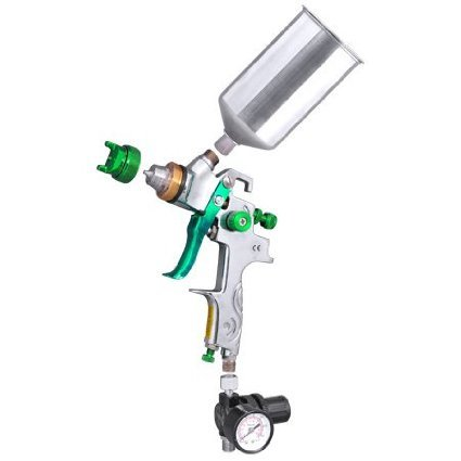 Professional Gravity Feed HVLP Spray Gun Auto Paint Sprayer