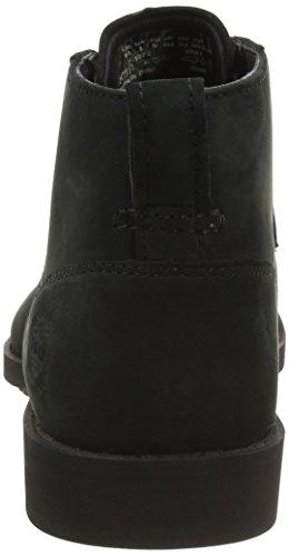 Timberland Herren Fitchburg Waterproof Chukka Boots, Schwarz (Black Travelbuck), 45.5 EU