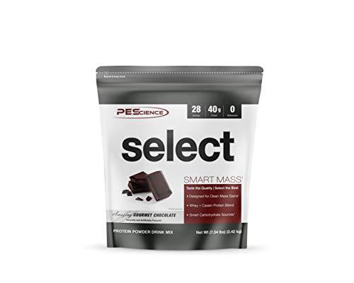 PEScience Select Smart Mass, Gourmet Chocolate, 28 Servings, Clean Mass Gainer Powder (Best Way To Grow Muscle Mass)