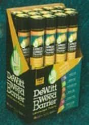 DeWitt 4.1-Ounce 20-Year Weed-Barrier Fabric, 5 x 250-Feet