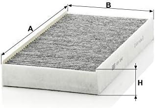 Original Mann Filter Innenraumfilter Cuk 3240 Pollenfilter Mit Aktivkohle Für Pkw Auto