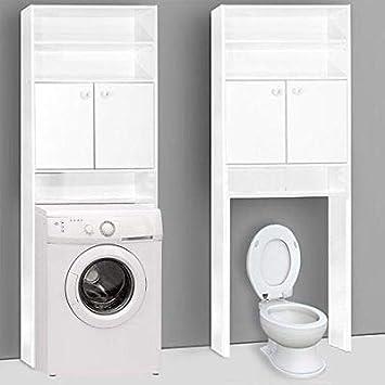 Generic - Armario de baño para Lavadora, Color Blanco (0cm, 195 x ...