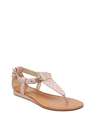 G by GUESS Women's Jettson T-Strap Sandals