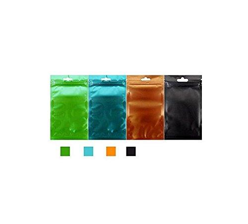 JxucTo 100pz/bag food foil Ziplock bag composti bag Storage Bag Packaging