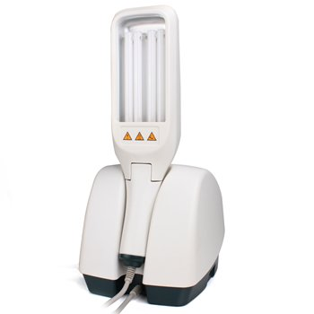FDA Approved UV Phototherapy Light with Two Philips Bulbs,LCD Display&Smart Timer,Narrow Band 311nm by Veingram (Image #3)