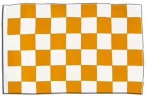 Drapeau//drapeau jaune//blanc 30 x 45 CM