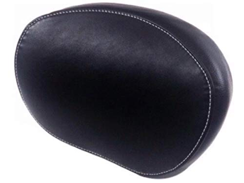 Leather Black Smooth Passenger Sissy Bar Backrest Pad for 2014-2019 Indian Motorcycles Like Chief Chieftain Springfield ref 2879666-01