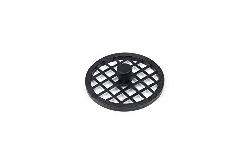 Fox Run 3194 Garbage Disposal Safety Screen, Plastic, Black
