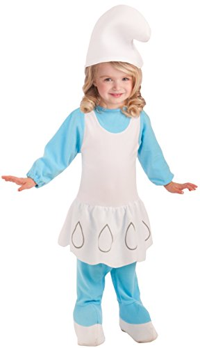 Smurfette Costume Baby (Rubie's Costume Smurfs: The Lost Village Toddler Smurfette Costume)