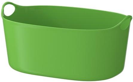 Ikea Torkis Panier A Linge Flexible Vert 35 L Amazon Fr Cuisine Maison