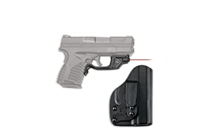 Crimson Trace Springfield Armory XD-S 4.0 9mm/.45 ACP Laser guard with Blade Tech Holster Boxed, Red by Crimson Trace Corporation